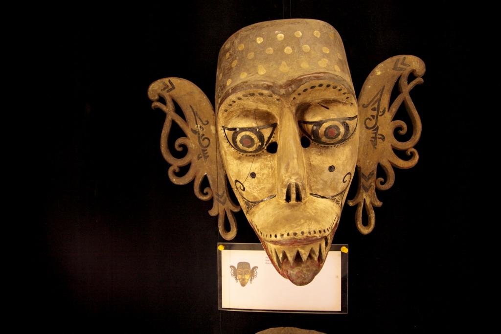 The house of mask and puppet (Kubu Bingin Art Kampong, Ubud)